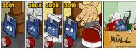 1981 – 2010: Adieu, Floppy Disk