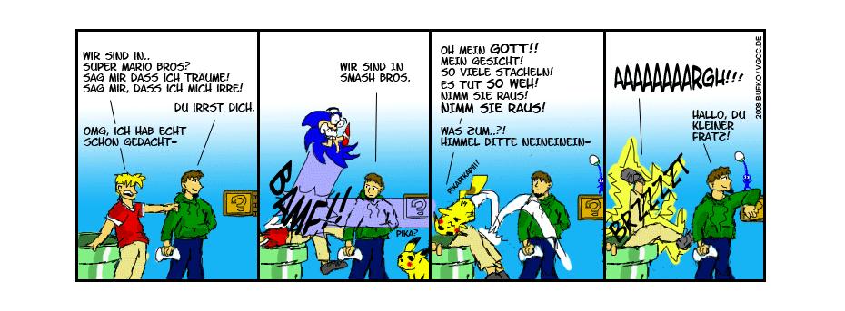 Dem Mario aufs Maul